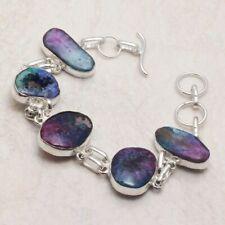 Bracelet 23 Gms Ab 20619 Rainbow Solar Quartz Ethnic Jewelry Handmade