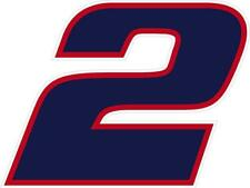 NEW FOR 2019 #2 Brad Keselowski Racing Sticker Decal S-XL - Various Colors