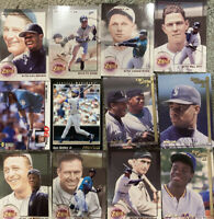 12 Ken Griffey Jr Rare Baseball Cards Upper Deck And Tops Collectible Cards