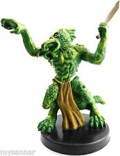 D&D mini HALF-ILLITHID LIZARDFOLK Aberrations #34 Dungeons & Dragons Miniature