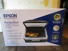 Epson Perfection V500 Photo Color Scanner No Reserve