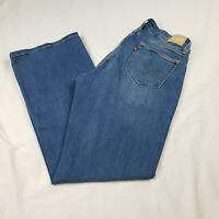 Levi's 529 Womens Size 12 Curvy Bootcut Blue Jeans Medium Wash