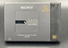 Sony md minidisc player Mz-E2 Untested As-Is