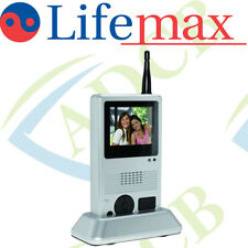 LifeMax Colour Video Intercom Door phone System Touch Screen Portable Wireless