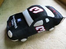 """Dale Earnhardt #3 Goodwrench 18"""" Plush Car Pillow NASCAR NEW with Tags"""