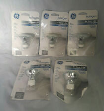 Lot of 5 GE Halogen Directional 35W 200 Lumens Bulbs