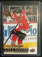 2018-19 UD Young Guns Canvas Dylan Sikura #C237 25 CENTS COMBINED SHIPPING