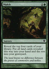 4x Concime - Mulch MTG MAGIC Innistrad Ita