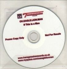 (CO354) Ox. Eagle Lion Man, If This Is A Man - DJ CD