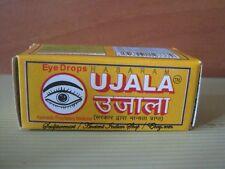 Lot of 20 Bottles UJALA Ayurvedic Eye Drops By B. C. Hasaram & Sons, 10 ml