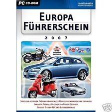 Europa Führerschein 2007 ( PC ) NEU OVP