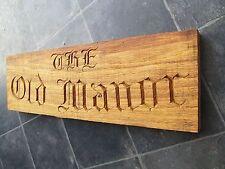 Oak House SIGNE Bespoke Hand Carved In-situ Chêne SIGNE Oak Beam Old English police