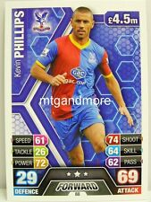 Match Attax 2013/14 Premier League - #088 Kevin Phillips - Crystal Palace