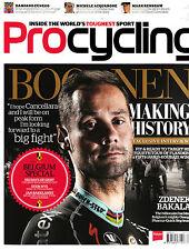 PROCYCLING #186 1/2014 TOM BOONEN Belgium Spec ZDENEK BAKALA Damiano Cunego @NEW