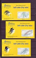 BRD 2002 gestempelt Berlin Markenheftchen Satz MiNr.2237-2239 Salt Lake City