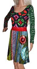 DESIGUAL Kleid Robe Vestido Dress VEST SATINI Gr. M Gr. 38 ***NEU***