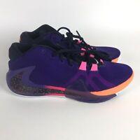 Nike Zoom Freak 1 All Bros Basketball Shoes Men's 11.5 Multi-Color DA4811-500