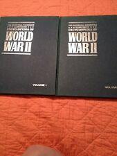 Marshall Cavendish Illustrated Encyclopedia World War II Set Of 2 Volumes