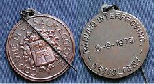 MEDAGLIA RADUNO INTERPROVINCIALE ARTIGLIERI 1973 CASALMAGGIORE REGGIO EMILIA #1
