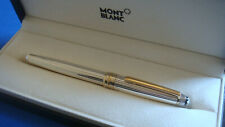Stylo rollerball MONTBLANC Solitaire argent massif 925.  N°MH108..Ecrin