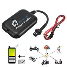 Vehicle Car Motorcycle GPS SIM Card GSM GPRS Real Time Tracker Monitor Tracking