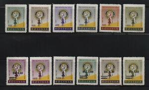 Bolivia: Scott 429 - 432, C223 - C226, 486 - 487, C268 - C269, rotary,... BO23/