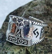 Modeschmuck-Ringe im Siegel-Stil aus Edelstahl