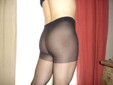 Lot de 6 Collant noir pieds renforcés taille 173-183 cm gay inte sheer