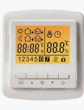 Electric underfloor heating thermostat