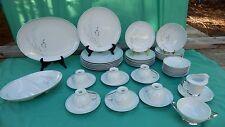 "VTG Sango Fine China Of Japan ""Pampas "" 45 Piece Dinnerware Set"