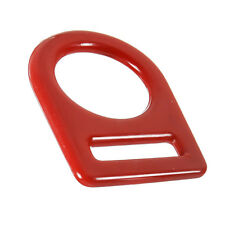 Fusion Climb Team Large Carbon Steel D-Ring Pvc Coated Red Mbs 23Kn
