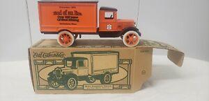 Rare ERTL SPECIAL RUN BETHLEHEM STEEL End Of An Era 1931 Hawkeye Truck Bank