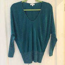 Monsoon Teal Jumper with Metallic Detail, Size S, BNWOT