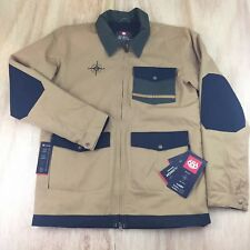 686 Forest Bailey Cosmic Snowboard Jacket Mens SZ [S] Camel NEW
