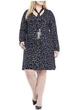 MICHAEL Michael Kors Plus Size Star Foil Tie Dress. Size 2X.. $145.00.
