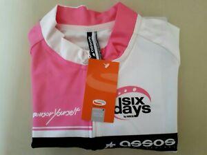 ASSOS CLOUSEAU Pink SIX-DAYS Cycling Jersey XL BNWT IN BAG