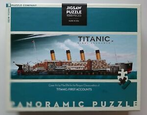 Panoramic  Titanic Jigsaw from the New York puzzle company 1000 Pieces.