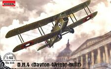 DH-4 DAYTON-WRIGHT BUILT (W/LIBERTY ENGINE, USAS & US MARINES MKGS) 1/48 RODEN
