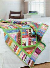 Lime Twist Quilt Pattern Pieced DK