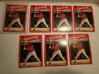 "1990 Donruss OZZIE SMITH #201 - ERROR No ""dot"" after INC - ""RARE""  - HOF - 710"