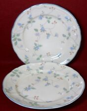 EPOCH (Noritake) china HAVERHILL E525 Two (2) Salad or Dessert Plates - 7-3/4""