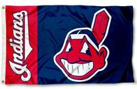NEW Cleveland Indians Logo MLB Baseball Large 3x5 Flag FREE SHIPPING