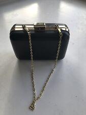 0758d9ba68 Carolina Herrera 212 VIP Black Clutch Bag With Detachable Chain