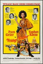 FRIDAY FOSTER one sheet movie poster 27x41 PAM GRIER BLAXPLOITATION 1975 AKIMOTO