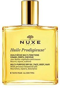 NUXE Huile Prodigieuse Multi-Purpose Dry Oil - face body hair 100ml