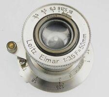 Leica SM 5 Digit 50mm f3.5 Nickel Elmar #95038 ....... Very Rare 5 digit no.