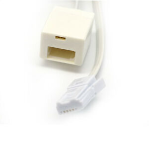 BT Telephone Extension Cable Lead Phone Line Fax Modem Socket RJ11 2m 3m 5m 20m
