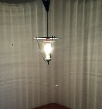 alte Lampe Lamp mid century 50er Jahre 50s Haengelampe Stilnovo Flur Floor Pilz