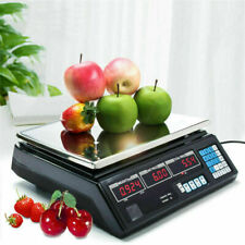 More details for 40kg electronic digital table scales fruit retail price weighing commercial shop