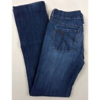 New York and Company NY&C Platinum Straight Leg Jeans Size 4 Excellent